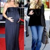 Top Celebrities Moms Before And After Baby