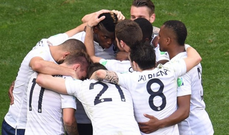 France beat Nigeria 2-0 for a place in World Cup quarter-finals