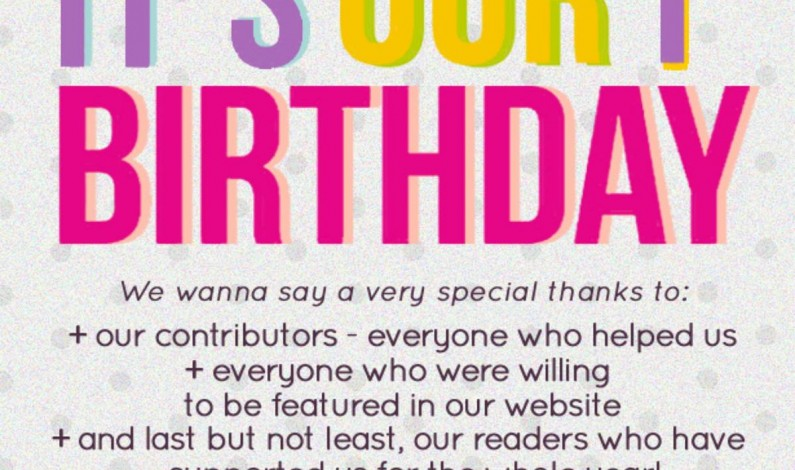 """It,s Our 1st Birthday """"Yesurdu"""""""