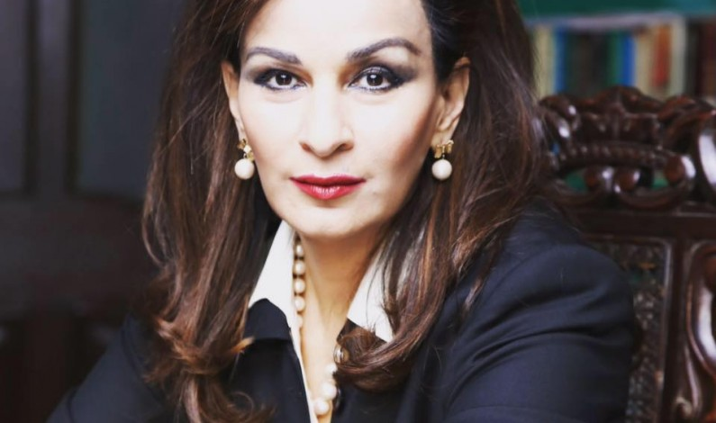 Vice President PPP Senator Sherry Rehman  Questions Federal Govt over alleged Mansour Killing