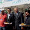 People thronged Pakistani food stalls at Paris France