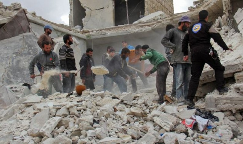 Syria conflict: Children's hospital hit in deadly Aleppo strikes