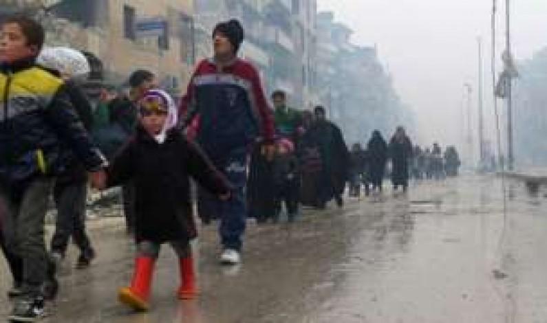 Aleppo battle: UN says 82 civilians shot on the spot