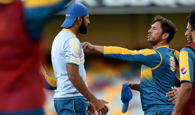 Yasir, Wahab resolve differences after scuffle during practice