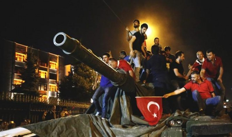 Turkish military losing public's trust after failed coup: poll