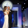 Melania Trump stuns in first lady fashion stakes
