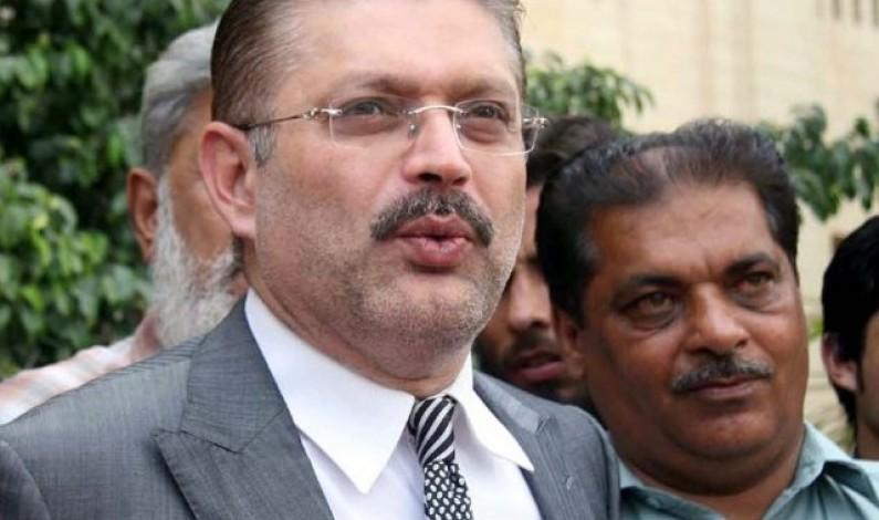 Sharjeel Memon granted transitory bail