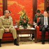 Army chief arrives in China on three-day official visit