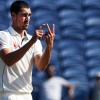 Starc out of India series with foot fracture