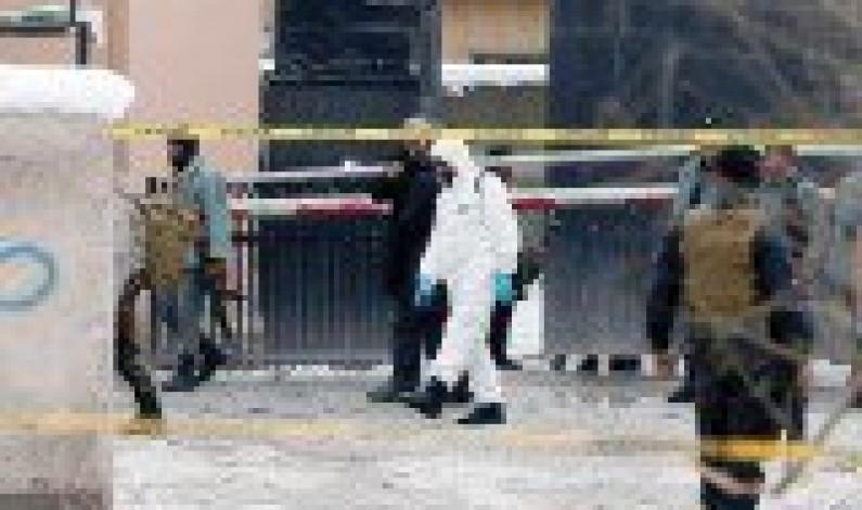 Roadside bomb kills nine policemen in northern Afghanistan