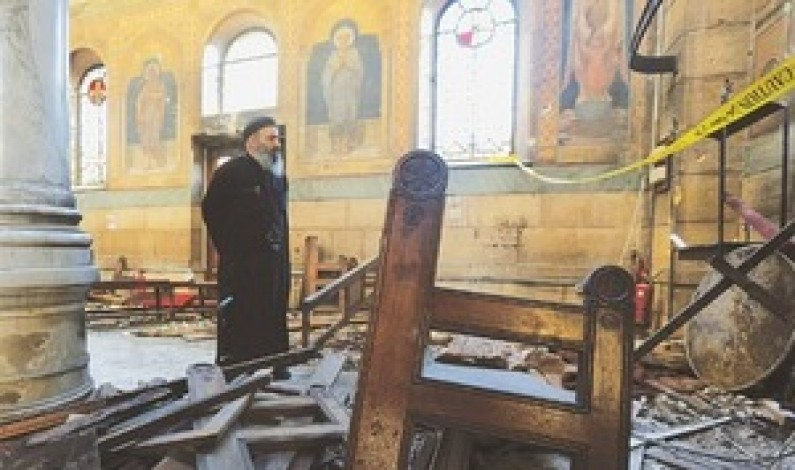 At least 15 dead in Egypt church bombing: state media