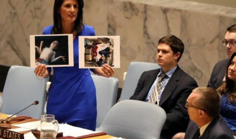 Trump's UN envoy says ouster of al-Assad is a priority of US