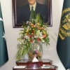 AIR CHIEF MARSHAL SOHAIL AMAN CALLS ON PM NAWAZ