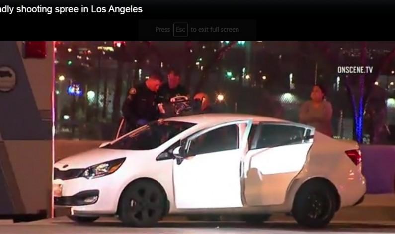 Deadly shooting spree in Los Angeles