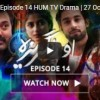 O Rungreza Episode 14 HUM TV Drama 27 October 2017