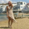 Vicky Xipolitakis on her vacation in Mykonos, Greece !!!