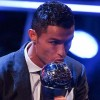 Ronaldo joins Messi as five-time winner of FIFA best player award