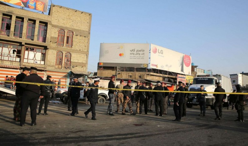 Pakistan strongly condemns the terrorist attack in Baghdad on 15 January