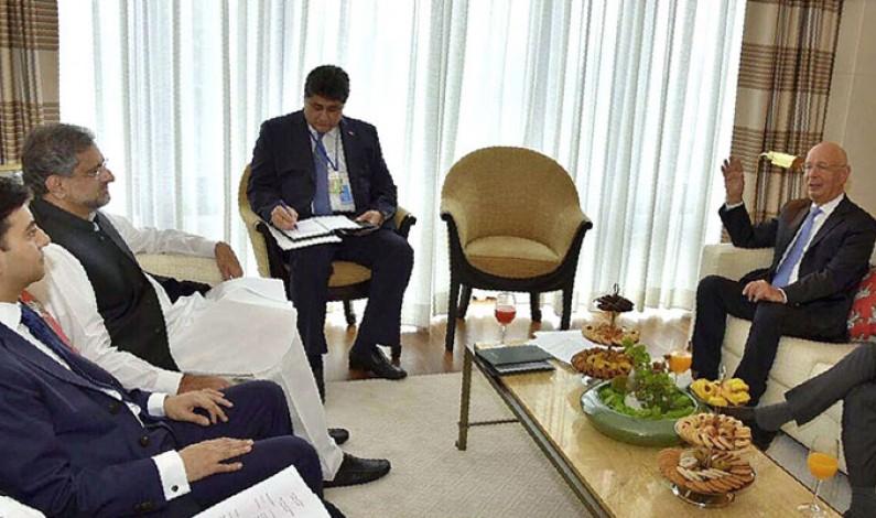 Prime Minister Shahid Khaqan Abbasi will attend World Economic Forum in Davos, Switzerland