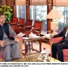 Ambassador of China to Pakistan H.E. Mr. Yao Jing meets Prime Minister Shahid Khaqan Abbasi