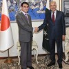 Japanese F.Minister appreciate Pakistan's sacrifices and contributions in the fight against terrorism