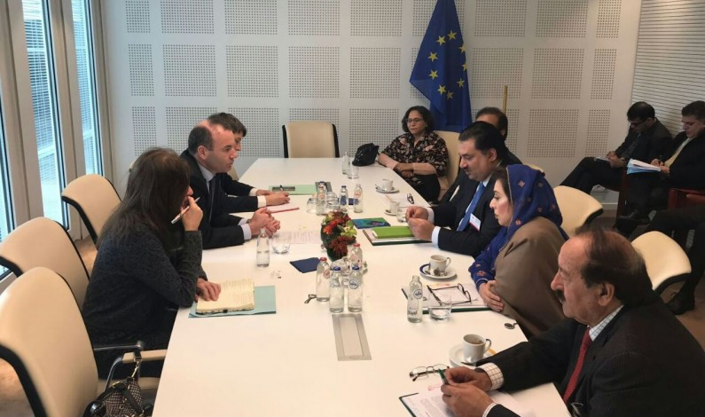 Pakistan's Parliamentary Delegation Meets with European Leaders Special Report Brussels