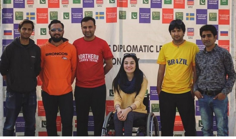 Muniba Mazari's presence adds gloss Leisure Leagues Diplomatic League