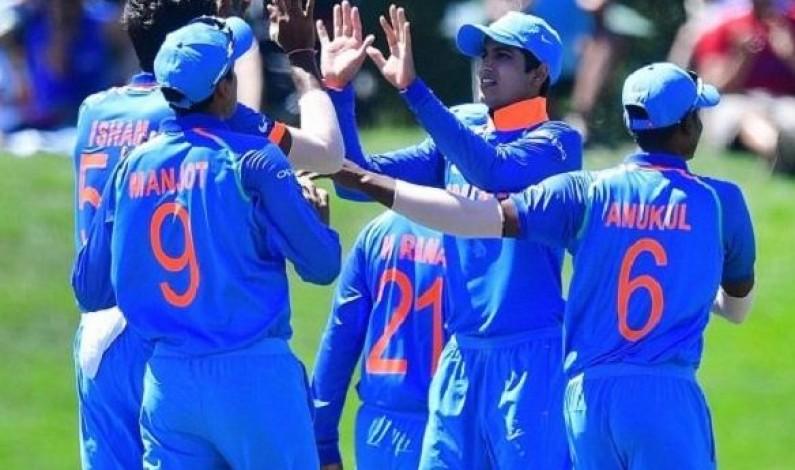 India beat Pakistan by 203 runs in second U-19 World Cup 2018 semi-final