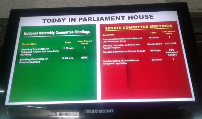 Four Standing Committees including Human Rights and Information and Broadcasting will meet tomorrow as per NA schedule