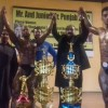 Malik Zeeshan won the title Mr. Punjab while Farzanad Ali became Jr. Punjab in the national body building competition held at Islamabad