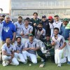 PCB Warriors vs PCB Green match, Media coordinator PCB zeeshan bhatti won the memrable match