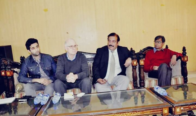 Mr.Steven Butler the Asia program coordinator committee to protect journalists ,visited National Press Club Islamabad