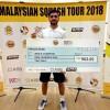 Tayyab aslam wins final of Malaysian tour
