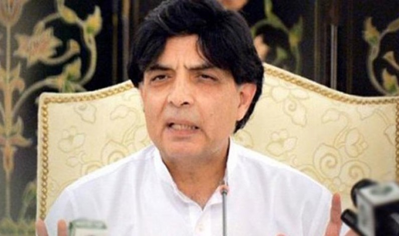 Chaudhry Nisar to contest elections from NA-59