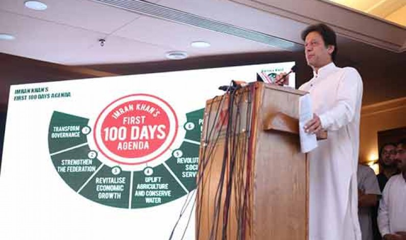 PTI introduces 100-day plan ahead of general polls