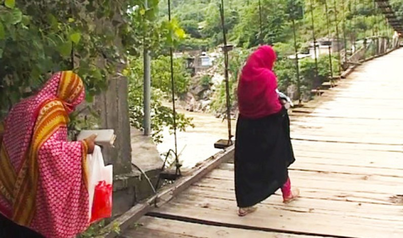 Kohala's Bridge: For people in AJK crossing a bridge was never this risky