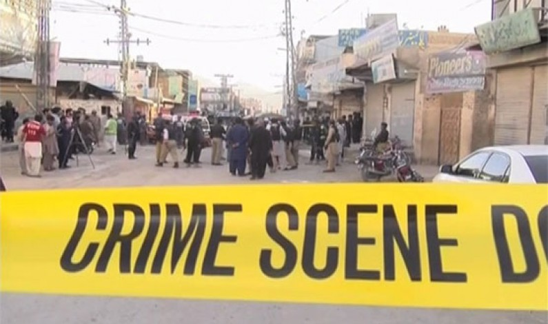 Two traffic police officials martyred in Quetta
