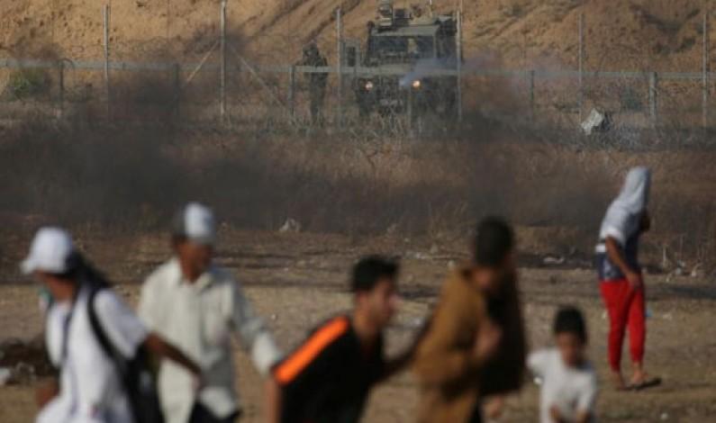 Israel, Hamas trade fire on Gaza border; Palestinian killed