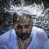 In pictures: Beating the heat