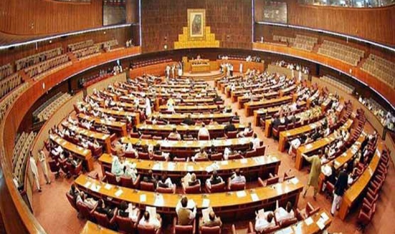 NA session to pass historic FATA merger with KPK bill underway