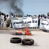 Protesters block access to KP assembly ahead of Fata merger bill's approval