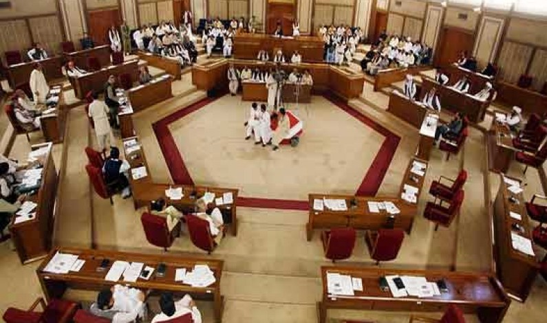 Resolution to hold general polls in August submitted in Balochistan assembly secretariat
