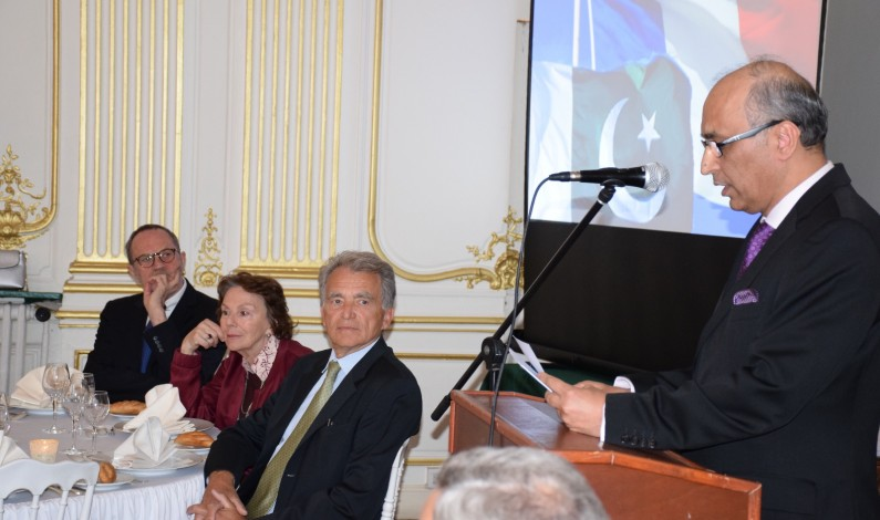 """Association of Friends of Pakistan"" launched in a meeting held at Embassy of Pakistan in France"