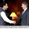 A PEACEFUL AFGHANISTAN IS IN THE FAVOUR OF PAKISTAN: SARDAR AYAZ SADIQ