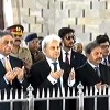 Caretaker PM pays visit to Quaid's mausoleum in Karachi