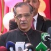Chief justice suggests construction of two dams with money recovered from bad debts