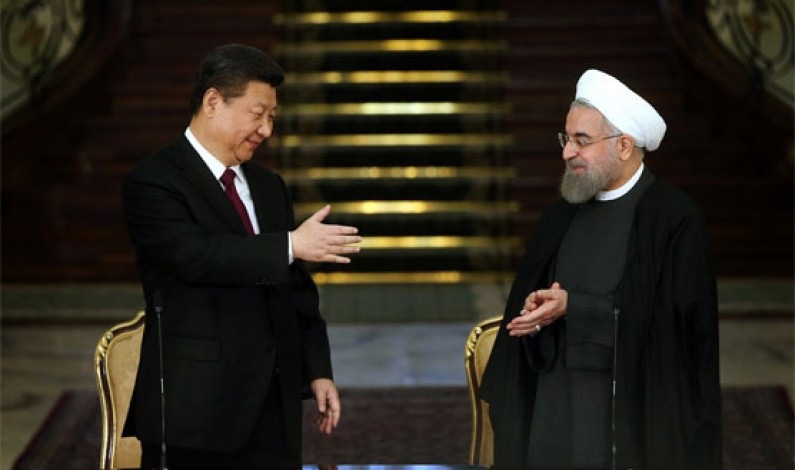 China's Xi backs nuclear deal in talks with Iran leader