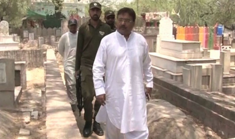 Operation against encroachments in Miani Sahib Graveyard continues on fourth day