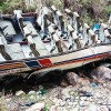 44 dead in India bus crash