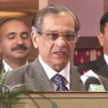 CJ takes notice of Justice Siddiqui's startling allegations against security agency
